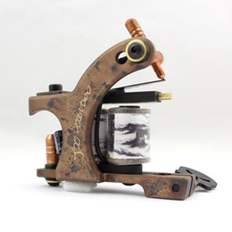 faster tattoo Canada - smtm050901 the best quality mix 5pcs shder copper tattoo machine fast shipping