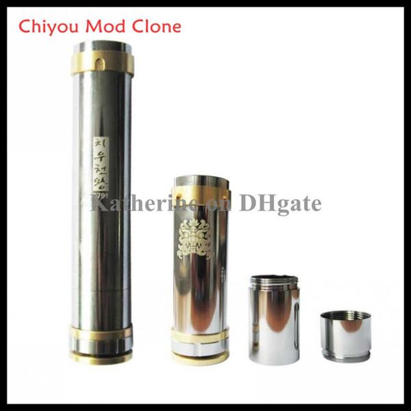 Chiyou Mod Clone Mod für 18350/18650 Batterie Edelstahl VS King MOD Bagua Hammer Nemesis Kayfun Elektronische Zigarette E Zigarette E Zig