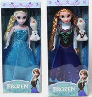 Wholesale Play Set Doll - Frozen Figure Play Set Elsa Anna Classic Toys Frozen Toys Dolls in box