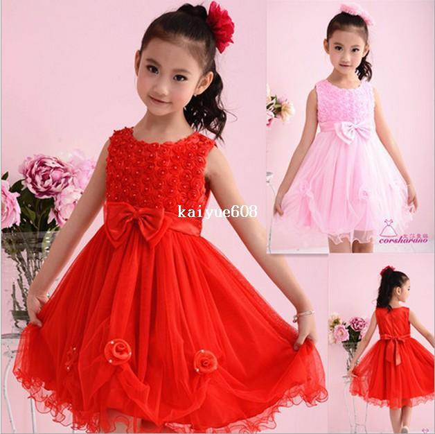 a70b6ac8f6e 2019 Swimwear New 2013 Christmas Girl Wear Kids Dresses Fashion White