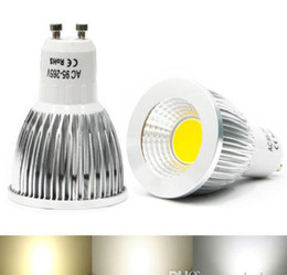Wholesale Dimmable Cree E27 - COB Led 5W 7W 9W bulbs light Dimmable GU10 E27 E26 E14 MR16 led spotlights warm pure cool white 85-265V 12V
