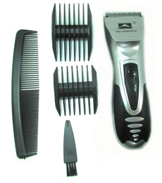Wholesale Electric Hair Clippers Set - Free Shipping one pc PRO HAIR TRIMMER CLIPPER PORTABLE STYLER CUTTER GROOMER TRAVEL DRY BEARD BATTERY KIT