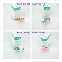 Wholesale Wholesale Piercing Needles - 50pcs Gauge Steel Catheter Piercing Needles Supply CNE# Series 14G 16G 18G 20G 22G