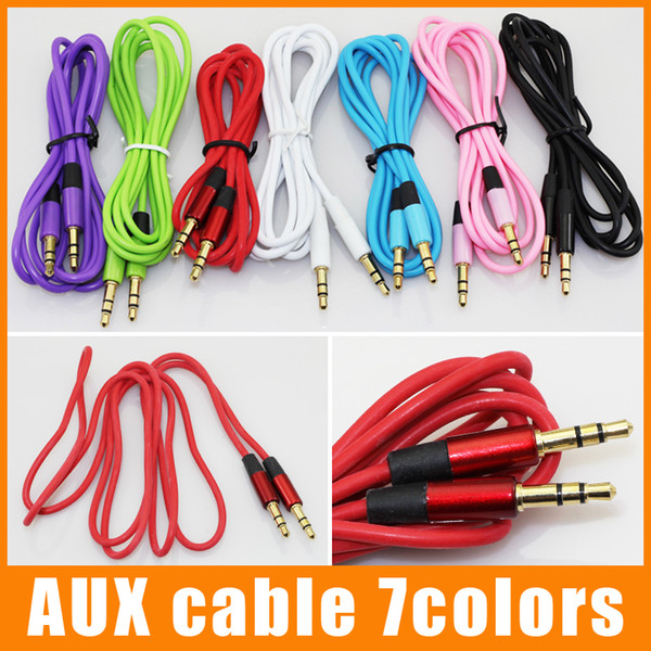 best selling Aux Cable Auxiliary Cable 3.5mm Male to Male Audio Cable 1.2M Stereo Car Extension Cable for Digital Device 100pcs up