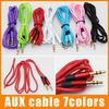 Aux Cable Auxiliary Cable 3.5mm Male to Male Audio Cable 1.2M Stereo Car Extension Cable for Digital Device 100pcs up