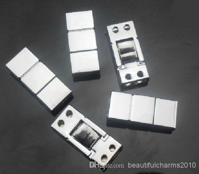 الجملة 50 قطعة / الوحدة 8 ملليمتر 2 نهاية المشبك موصل سحر الاكسسوارات ديي يصلح ل 8 ملليمتر حزام جلد