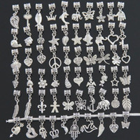 Wholesale Tibetan Beads Sale - Fashion Beads For Pandora Charms Dangle Pendant Tibetan Silver Beads 300pcs lot Charm Jewelry Hot Sale Free Shipping