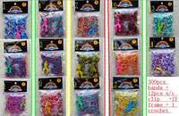 Wholesale Rainbow Loom Gold Silver - BEST TOY ! Rainbow color Rainbow loom loom kit!(300 pcs bands + 12 pcs S-clips +1 crochet+ Y FRAME) in each bag.DROP SHIPPING.OUTLETS.