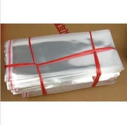 Печать волос онлайн-100 шт. Самоклеющиеся печать прозрачные пластиковые пакеты для наращивания волос 20 * 54 см бесплатная доставка H165