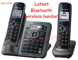 Wholesale Phone Digital Answer - Free shipping TG7641TCordless Phone digital answering machine DECT6.0 bluetooth