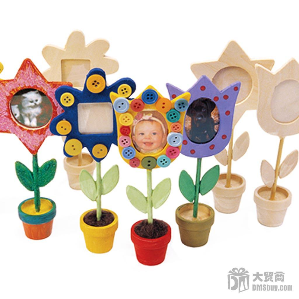 2019 Handmade Diy Child Painting Wooden Photo Frame Kids Picture Frames White Mold Flower Pot Early Educational Toys From Lin880 35 28 Dhgate Com