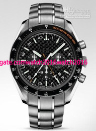 Wholesale Watches Hb - Factory Seller New In Box AAA Quality Hb-Sia Solar Impulse Stainless Steel Black Mens Sport Date WristWatches Men's Mechanical Watch