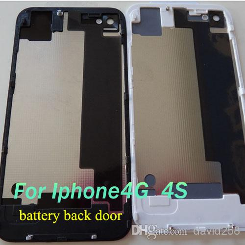 2018 Glass Back Cover For Iphone 4 4g 4s Battery Assembly Housing