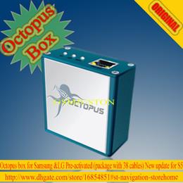 Desbloqueio de flash box on-line-O mais novo Octopus caixa de ativação total para a Samsung para LG +38 cabos desbloquear, reparar, flash etc ... nova atualização S5, note4