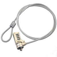 Wholesale Notebook Security Cable Lock - Laptop PC Notebook lock Computer Security Cable Chain Key Lock Keychain