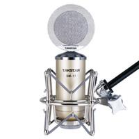 Wholesale Takstar Condenser Mic - 2014 TOP Boutique New Takstar SM-17 Professional condenser microphone computer microphone recording microphone karaoke MIC