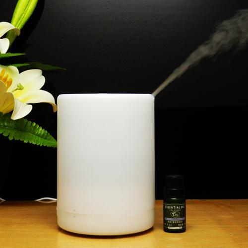 Diffusore di aromi ad ultrasuoni Apparecchi di vita Cambia colore 300 ML Aromaterapia Umidificatore d'aria Luce notturna Purificatore Spegnimento automatico Diffusore