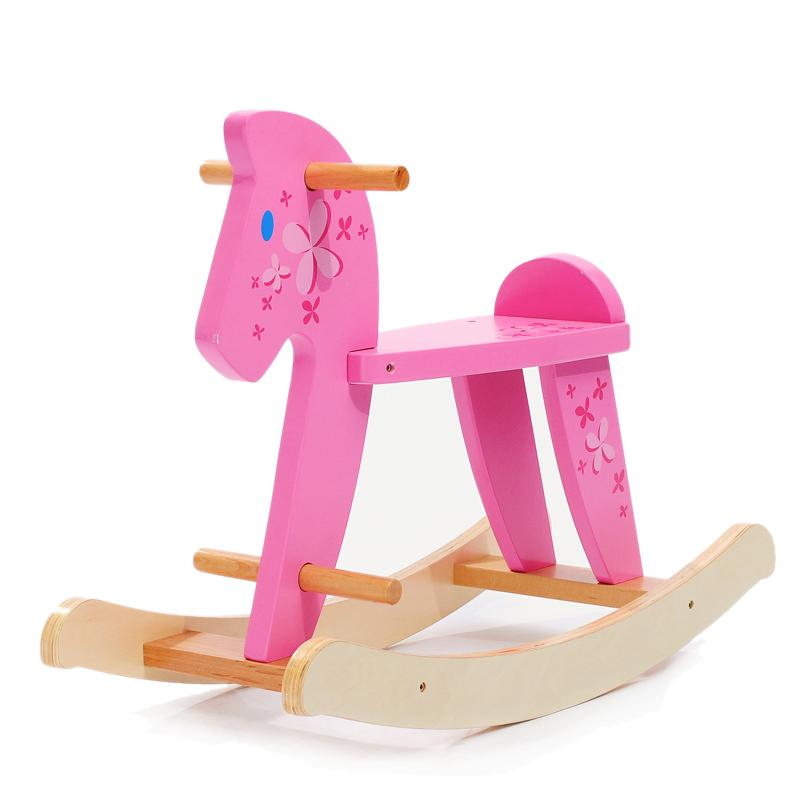 2018 Hessie Rocking Horse Solid Wooden Animal Classic Simple Structure Ride  On Toys Wooden Rocking Chairs Baby Toy From Supermarketes, $155.78 |  Dhgate.Com