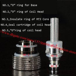 Wholesale Ego Seal - E Cig Sealing Ring Heater Insulated Ring for Ego Replaceable Resistance Coil Head O Ring for MT3 H2 Atomizer Miniprotank Protank Clearomizer