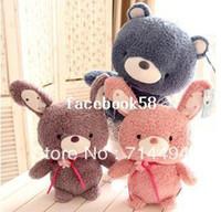 osito azul blanco al por mayor-El original muñecas azules y blancas lindo pequeño conejo amantes del oso de peluche de peluche de juguete muñeca de regalo de cumpleaños