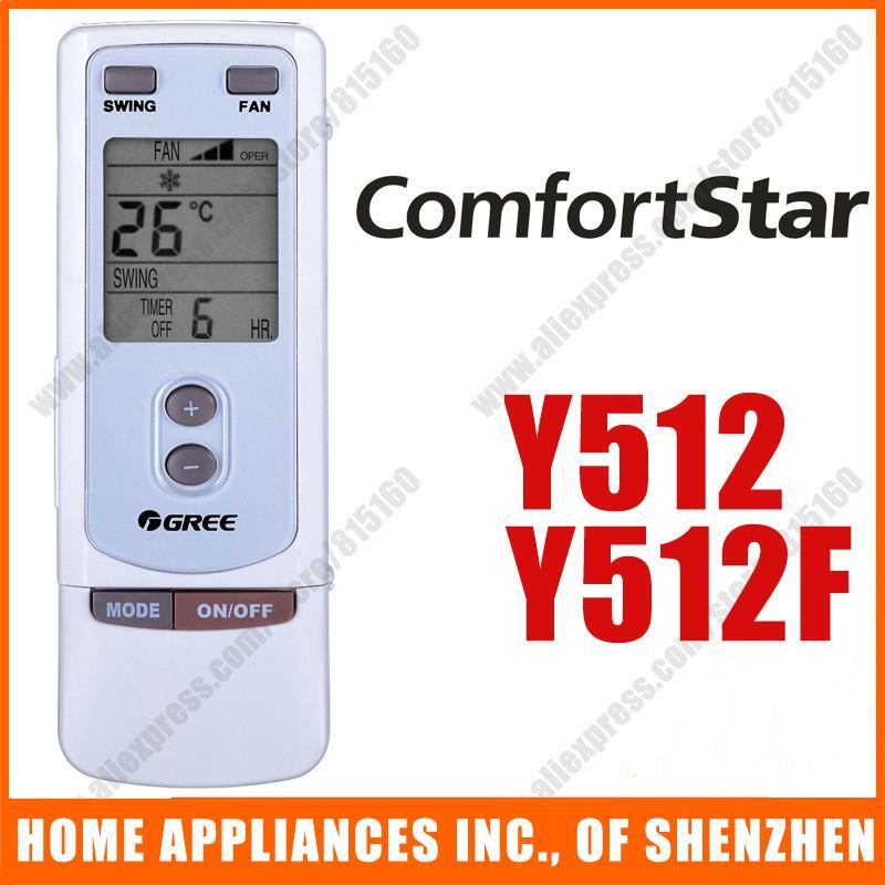 Замена для Comfortstar GREE Сплит портативный кондиционер пульт дистанционного управления Замена Y512 Y512F