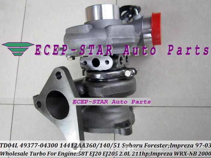 TD04L for Subaru Forester Impreza WRX 2.0L 58T EJ205 49377-04300 Turbo charger