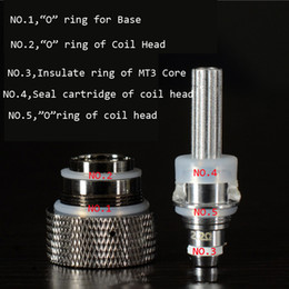 Deutschland Silikon-Dichtungs-O-Ring-Heizungs-Isolierring für Ego austauschbaren Spulenkopf-O-Ring für MT3 H2 Atomizer-Miniprotank Protank Clearomizers Versorgung