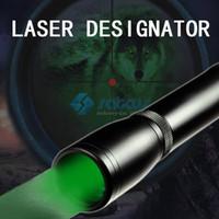 Wholesale Rifle Laser Designator - ND30 Light Green Laser Designator Handheld Light with Switch Mount Night Vision Optic Hunting Scope Accessory for Rifle Scope