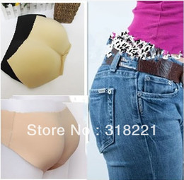 Wholesale Booster Panties - Free Shipping Underwear Butt Hip Enhancer Padded Shaper Panties Bum Booty Booster Pad high quality