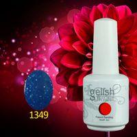 ingrosso migliori gel uv-Gelish Soak Off UV Nail Polish Polish 403 Fashion Colors Availabel 750Pcs / lot 15ML Miglior Gel Polish per Salon Gel UV