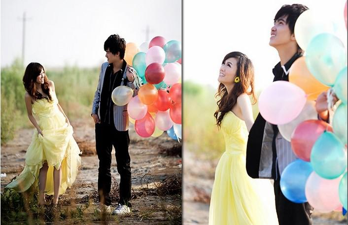 New Wedding Balloons Colorful 10CM Wedding Decoration Pearl luster Festival layout props bar activities balloons