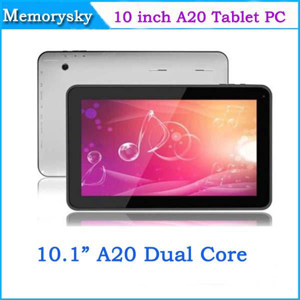 Allwinner A20 10 Zoll Dual Core Tablet PC 1024x600 1 GB RAM 8 GB ROM Android 4.2 Tablet PC HDMI USB Dual Kameras