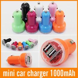 2019 obd recorder car 2 порта двойной USB автомобильное зарядное устройство красочные 2.1 A авто адаптер питания универсальный для iphone для ipad для Samsung 500шт