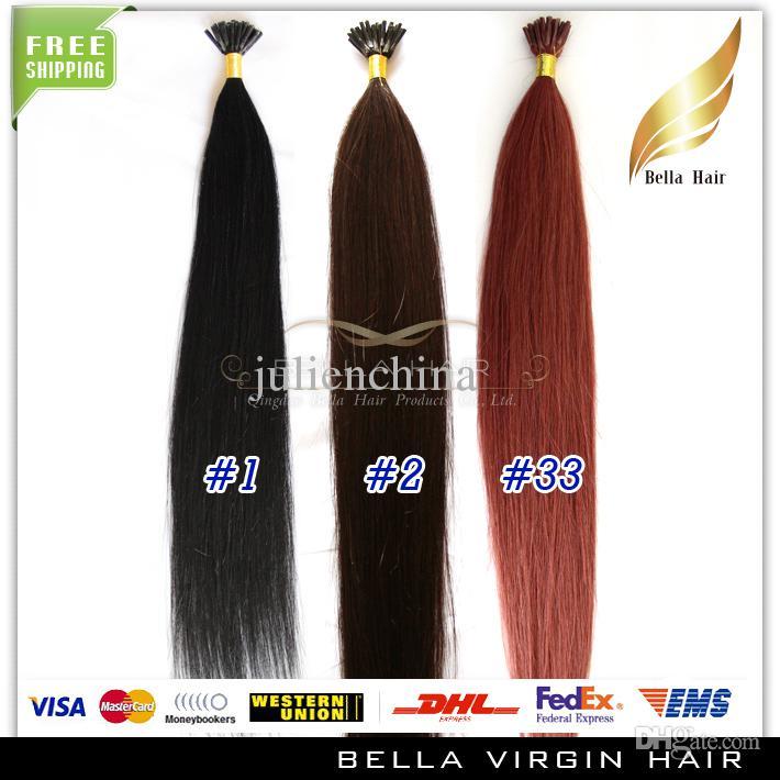 8A I-TIP قبل المستعبدين الشعر البشري البرازيلي 1 جرام / ستراند، 100 فروع، 20
