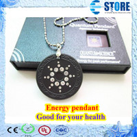 Wholesale Free Sky Card - In stock Starry sky Quantum Scalar Energy Pendant with hole inside & Authenticity Card, Fast delivery,Free Shipping,wu