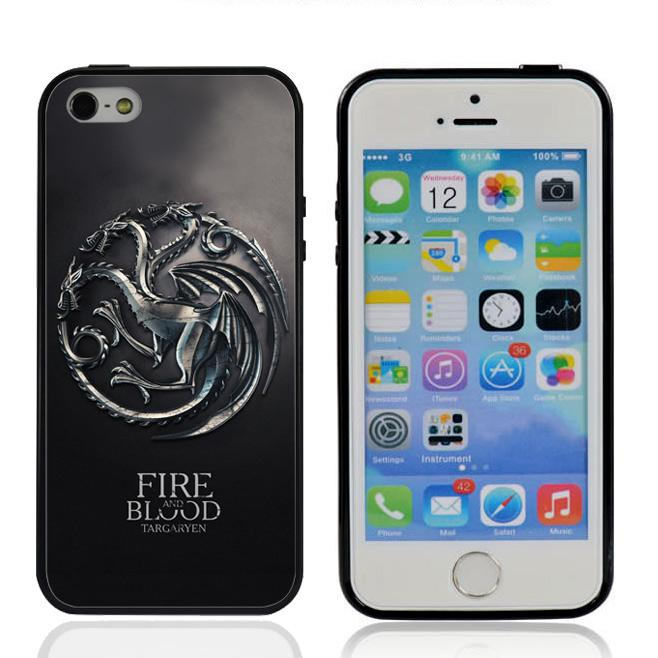 Hot Sale Game Of Thrones Fire And Blood Targaryen Case For IPhone ...