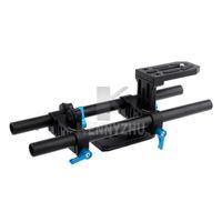 Wholesale Dslr Rig Plate - Fotga DP500 II Base Plate DSLR Rail 15mm Rod Support System Rig For Mattebox Follow Focus 5D Mark ll III Canon Nikon