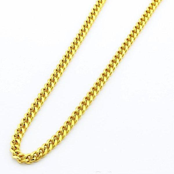 Уникальный мужской ожерелье 24 к позолоченные ювелирные изделия новый стиль 6.5 мм ширина снаряженном состоянии мужская цепь ожерелье 52 см 1 шт. мода горячие продажа