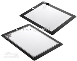 Wholesale Ipad2 Screen Replacement - black&white Touch Screen Digitizer Replacement Part For Apple Ipad2 Ipad2 3 Replacement Sreen touch for Ipad 2 3 Touch Panels