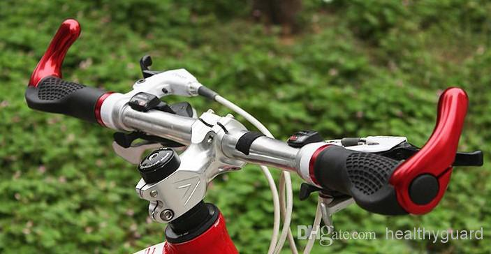 Bike Bicycle Handlebar Ox Horn Cycling Gear Grips Mountain Bike