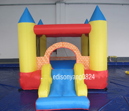 Wholesale Bouncy Houses - inflatable bouncer,cheap bouncy castles for sale,used commercial bounce houses for sale(Material is oxford fabric)