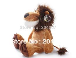 "Wholesale Nici Animal Series - NICI Lion Stuffed Doll Plush Jungle Series Animal TOYS 25CM OR 10"" FREE SHIPPING On Sale"