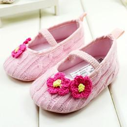 Carino rosa colore principessa della ragazza del bambino scarpe da passeggio in cotone infantile scarpe 0-24 m scarpe bambino 11-12-13 6 paia / lotto GX259 da