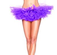 Wholesale ball ballet for sale - 8 colors Mini Fluffy Organza Pettiskirt Girl Tutu Ballet Dance Rave Party Skirt Swan purple