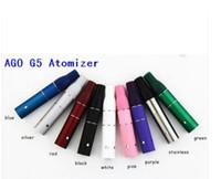ingrosso g5 camere atomizzatori-Ago G5 atomizzatore secco cartuccia a camera d'erbe vaporizzatore Clearomizer per vento a prova di sigaretta elettronica secco stile a penna sigaretta elettronica