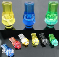 2014 New Arrival Hexagonal Acrylic flat shape 510 drip tips ...