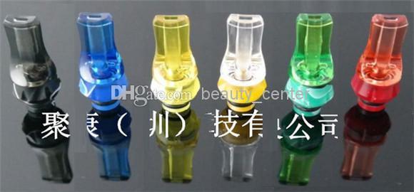 2014 Ny ankomst hexagonal akrylplattform 510 Dropptips för DCT Vivi Nova Kayfun Ithaka Atomizer Clearomizer