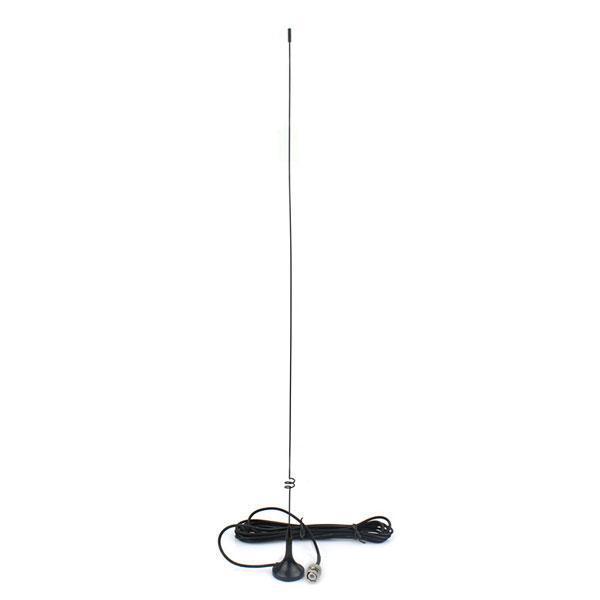 NAGOYA UT-108UV BNC UHF + VHF Antena magnética montada en el vehículo para YAESU ICOM BAOFENG PUXING Radio estándar Wilson Uniden y Vertex
