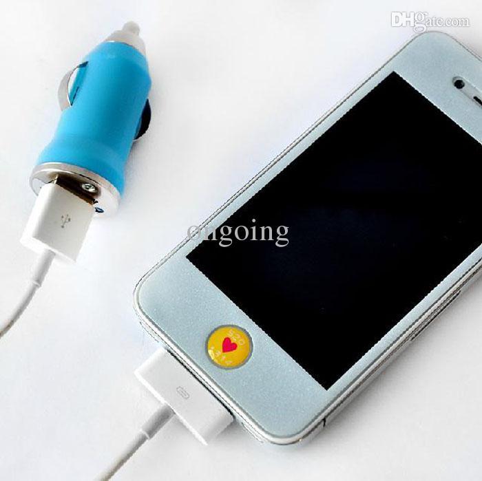 Auto-Aufladeeinheits-mini bewegliches Ladegerät Einzelner USB-Auto-USB-Aufladeeinheits-DHL geben Schiff frei