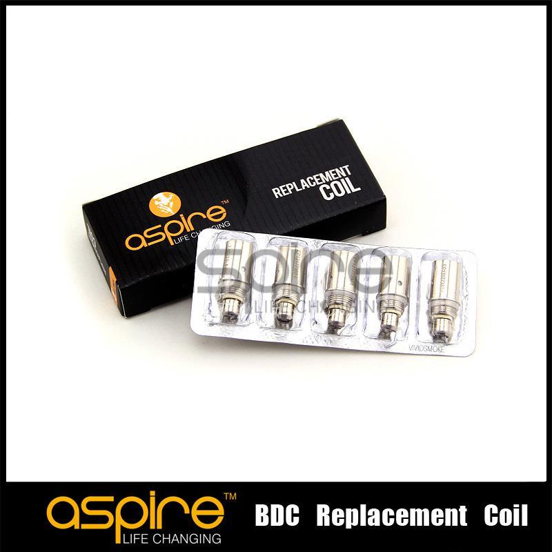 Toptan Satış - Aspire BDC Atomizer için aspire Bobinleri alt çift bobin değiştirme bobini BDC atomizer için sıcak sellling DHL Ücretsiz